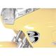 Show Chrome Accessories Fairing Air Intake Accent Grilles