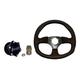 Dragonfire Racing Vinyl D Quick-Release Steering Wheel Kit