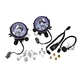 Show Chrome Accessories Lower Fog Light Kit