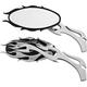 HardDrive Universal Flame Mirrors