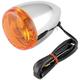 Biker's Choice Front Bullet Turn Signal Dual Filament