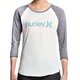 Hurley Women's One & Only Perfect Raglan T-Shirt