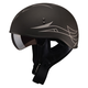 GMax GM65 Naked Pin Half Helmet