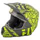 Fly Racing F2 Carbon Fracture Helmet