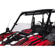 Tusk UTV Hard Coated Hinged Windshield +2-inch