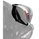 Show Chrome Accessories L.E.D. Visored Mirror Trim