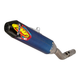 FMF Factory-4.1 RCT Anodized Titanium Silencer with Carbon End Cap (NO CA)