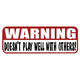 Hot Leathers Helmet Sticker -