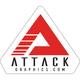 Attack Graphics Logo Sticker