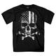 Hot Leathers Flag Skull T-Shirt