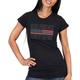 Hot Leathers Women's Flag Bling T-Shirt