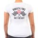 Rocky Mountain ATV/MC Women's Checker T-Shirt