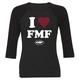 FMF Women's Adore 3/4 Sleeve Raglan T-Shirt