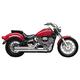 Cobra Speedster Short Motorcycle Exhaust (No CA)