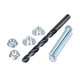 Tusk Swing Arm Chain Adjuster Bolt Repair Kit