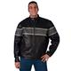 Hot Leathers 527 Leather Motorcycle Jacket