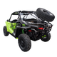 Tusk Impact Rear Bumper and Cargo Rack / Spare Tire Mount Kit