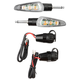 Click-N-Ride Quick Release Motorcycle Turn Indicators