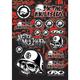 Factory Effex Metal Mulisha Sticker Sheet 1