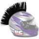 PC Racing Helmet Mohawk