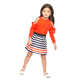 MILLY MINIS TIE SHOULDER PULLOVER