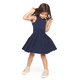 MILLY MINIS PLEATED FLARE DRESS