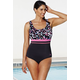 Chlorine Resistant Dots Empire Swimsuit