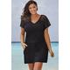 swimsuitsforall Black Phantom Dress