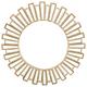 Sunburst Round Wall Mirror