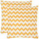 Striped Tealea Throw Pillows: Set of 2