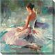 Ballerina Canvas Wall Art