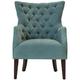 Angora Chenille Accent Chair