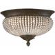 Cristal De Lisbon Flush-Mount Ceiling Light