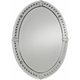 Graziano Frameless Oval Wall Mirror