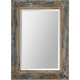 Bozeman Distressed Blue Wall Mirror