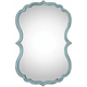 Nicola Light Blue Wall Mirror