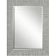 Belaya Gray Wood Wall Mirror