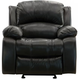 Bryant II Leather Glider Recliner