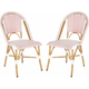 Salcha Outdoor Side Chairs: Set of 2