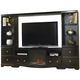 Sotto 4-pc. Entertainment Wall Unit w/ Fireplace