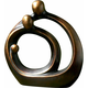 Family Circles Bronze Figurine
