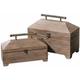 Tadao Wood Boxes: Set of 2