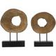 Ashlea Wooden Sculptures: Set of 2