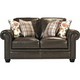 Denley Leather Loveseat