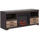 Cleo 2-pc. TV Console w/ Fireplace
