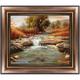 Autumn River Canvas Wall Art