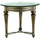 Galloway Glass End Table