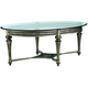 Galloway Glass Coffee Table