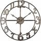 Delevan Metal Wall Clock