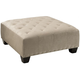 Cindy Crawford Calista Microfiber Cocktail Ottoman